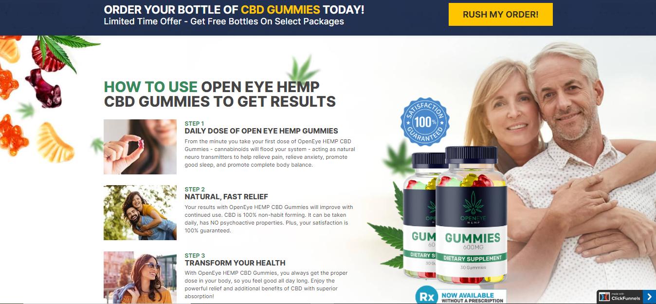 Open Eye CBD Gummies