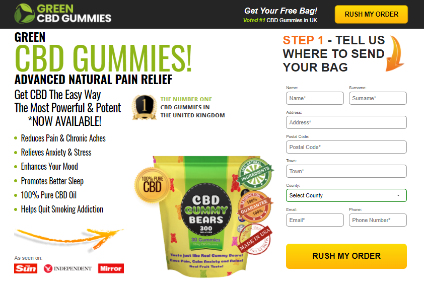 Green CBD Gummies UK