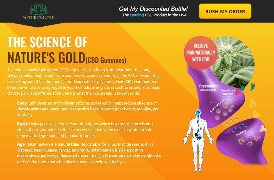 Natures Gold CBD Gummies